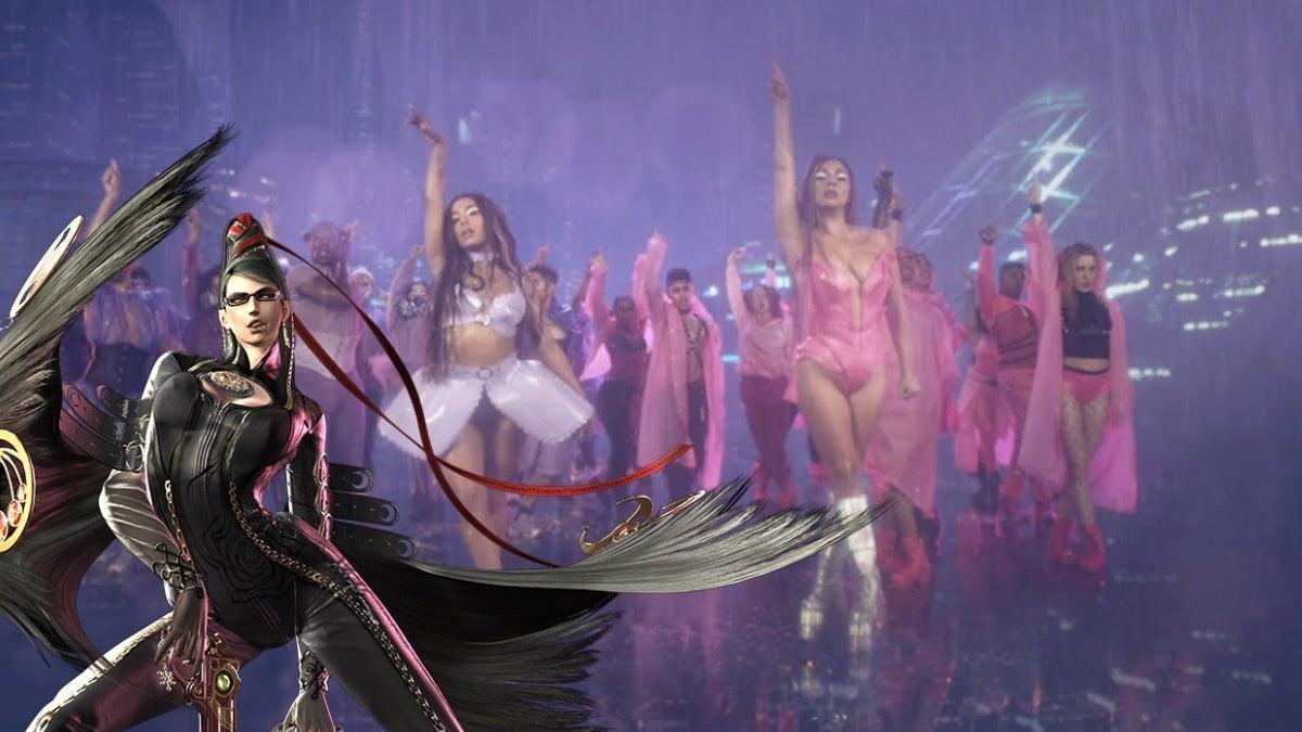 lady gaga rain on me bayonetta new cropped hed