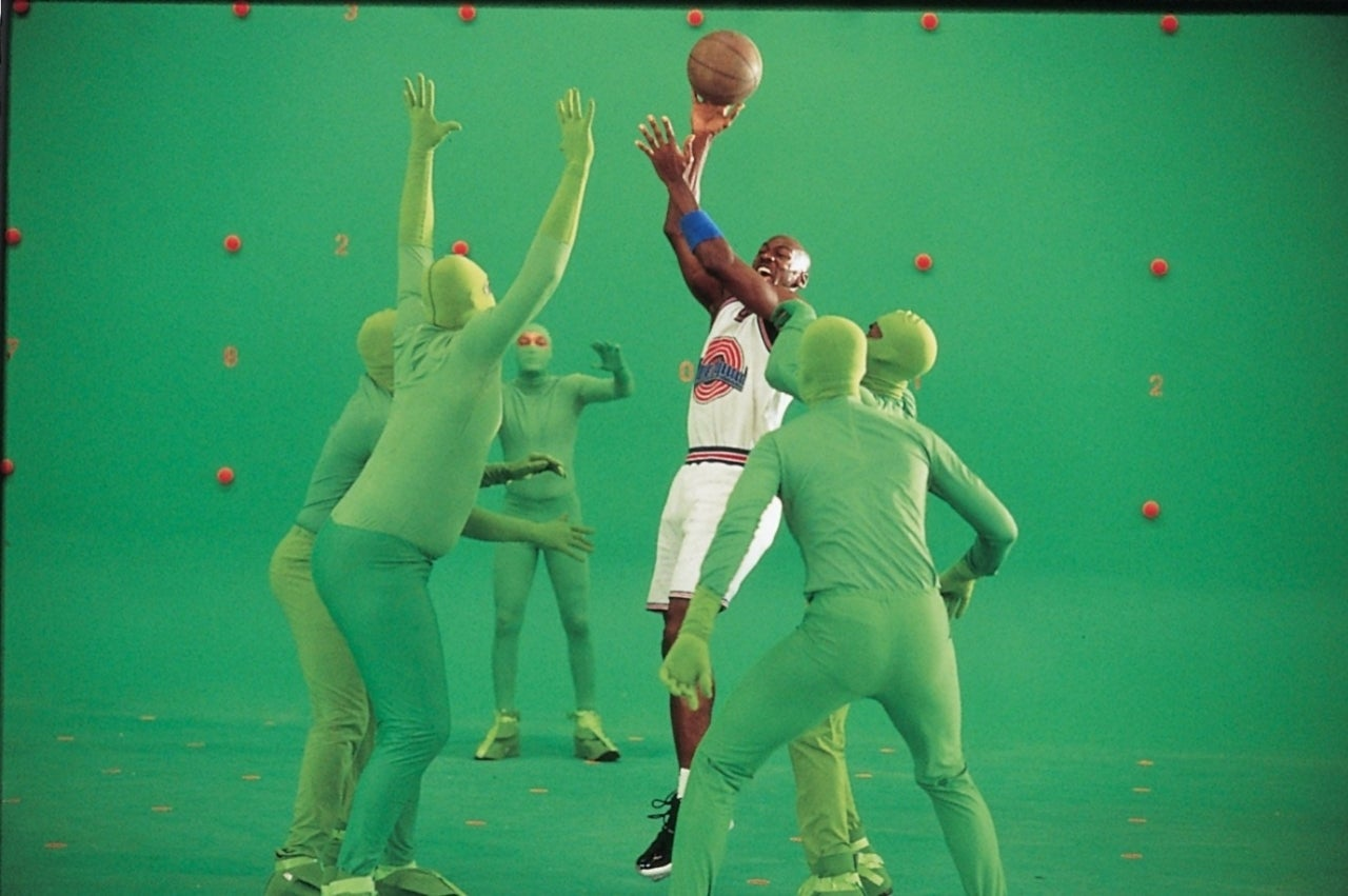 The Last Dance Viewers Are Flipping Out Over Space Jam Footage