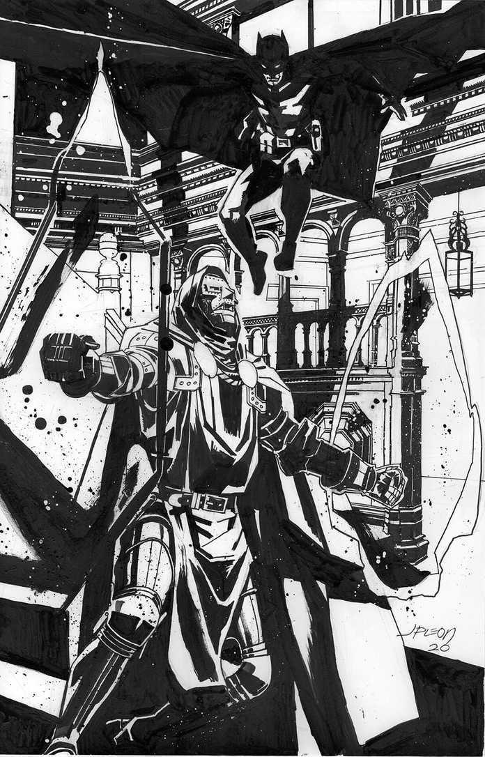 Leon John Paul - Batman and Doctor Doom
