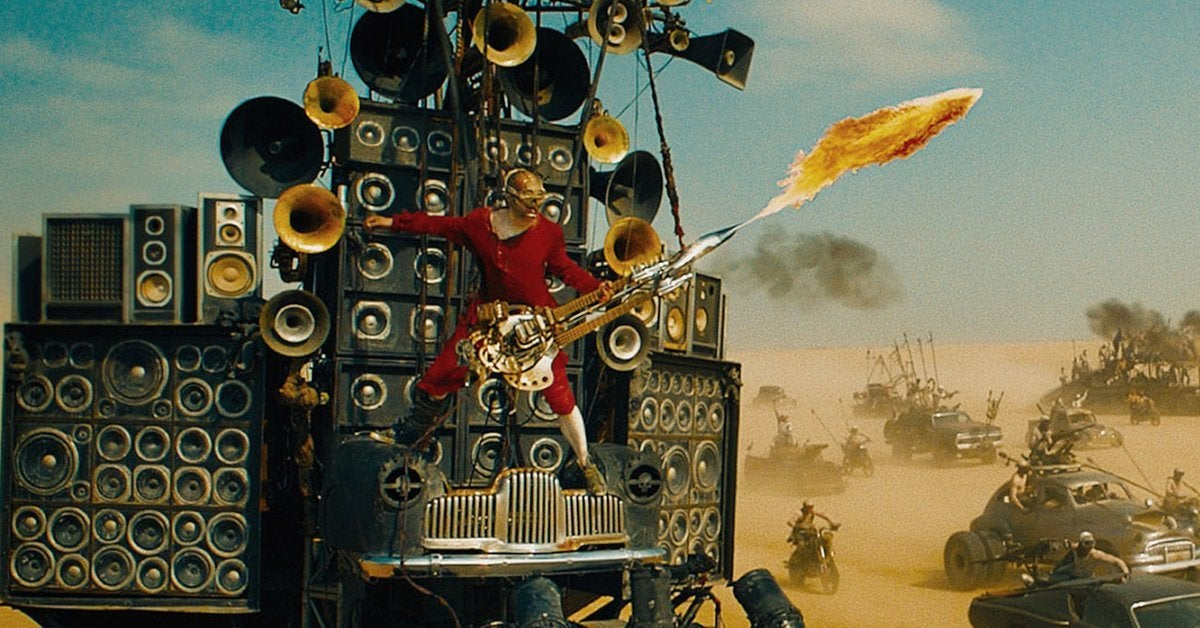 mad max fury road doof warrior guitar