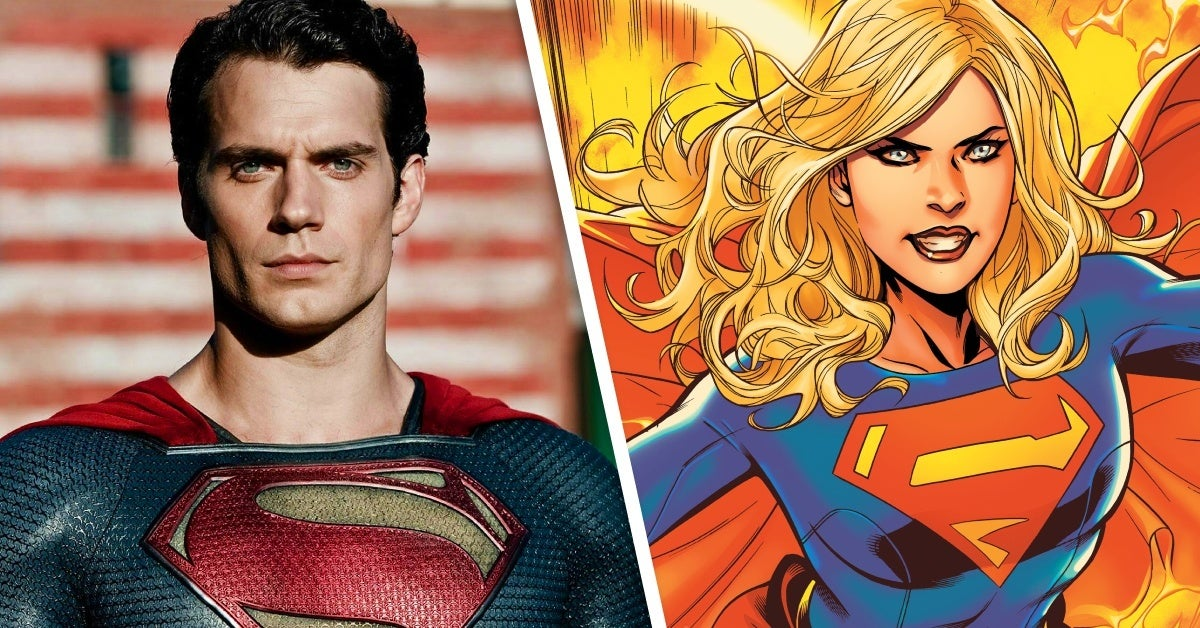 man of steel supergirl