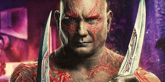 Marvel Guardians of the Galaxy Drax Dave Bautista