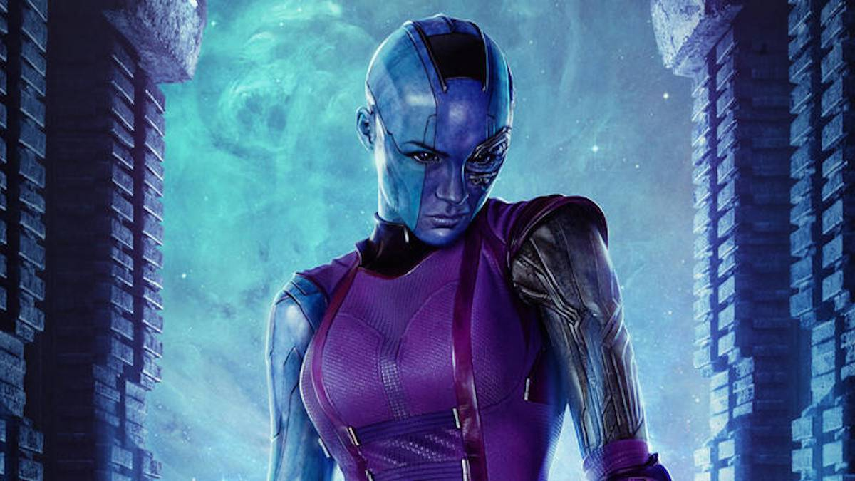 Marvel Guardians of the Galaxy Nebula Concept Art