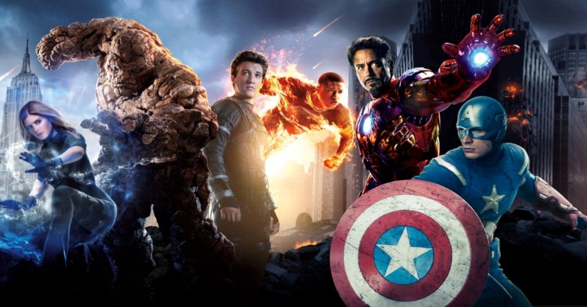 Marvel The Avengers Fantastic Four comicbookcom