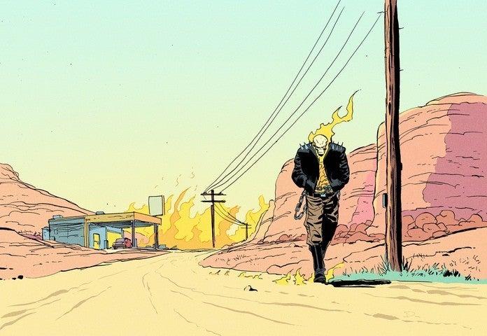 McDaid Dan - Ghost Rider