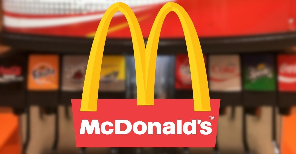 McDonalds Ending Self Serve Yourself Soda Fountains Coronavirus