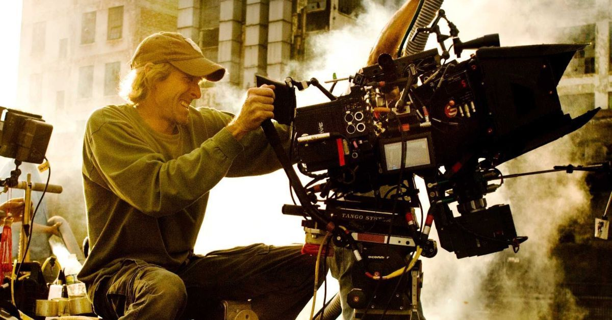michael bay shooting a movie
