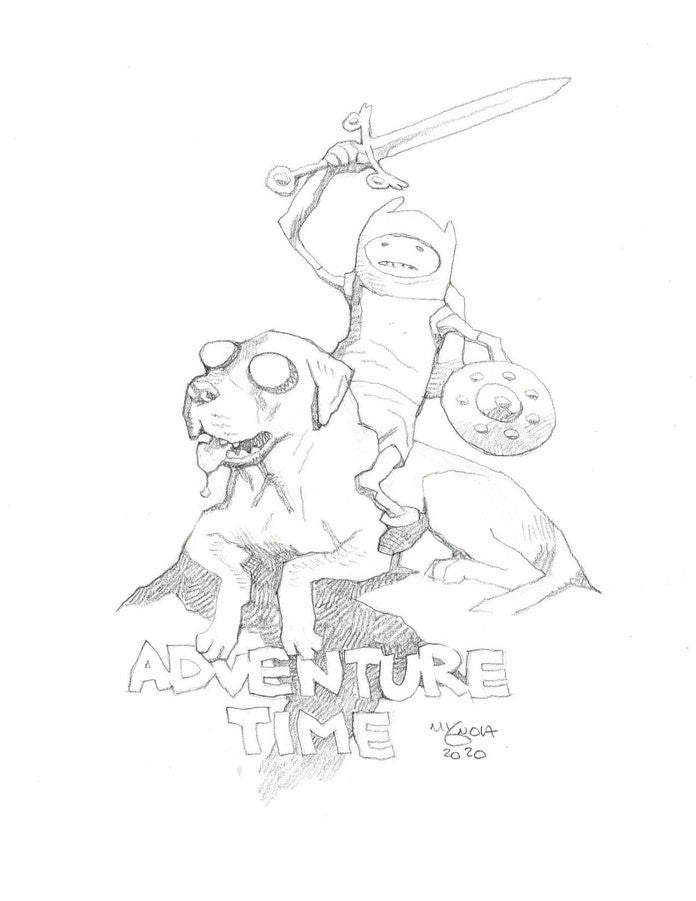 Mike Mignola - Adventure Time