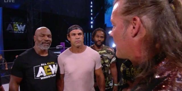 Mike-Tyson-Chris-Jericho-AEW