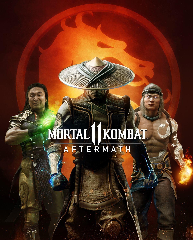 mortal kombat 11 aftermath key art