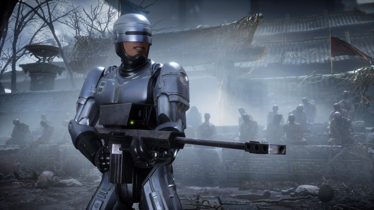 mortal kombat 11 aftermath robocop with gun new cropped hed