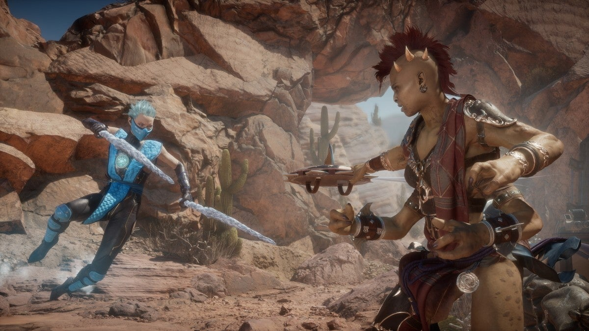 Mortal Kombat 11 Aftermath Reveals New Playable Characters