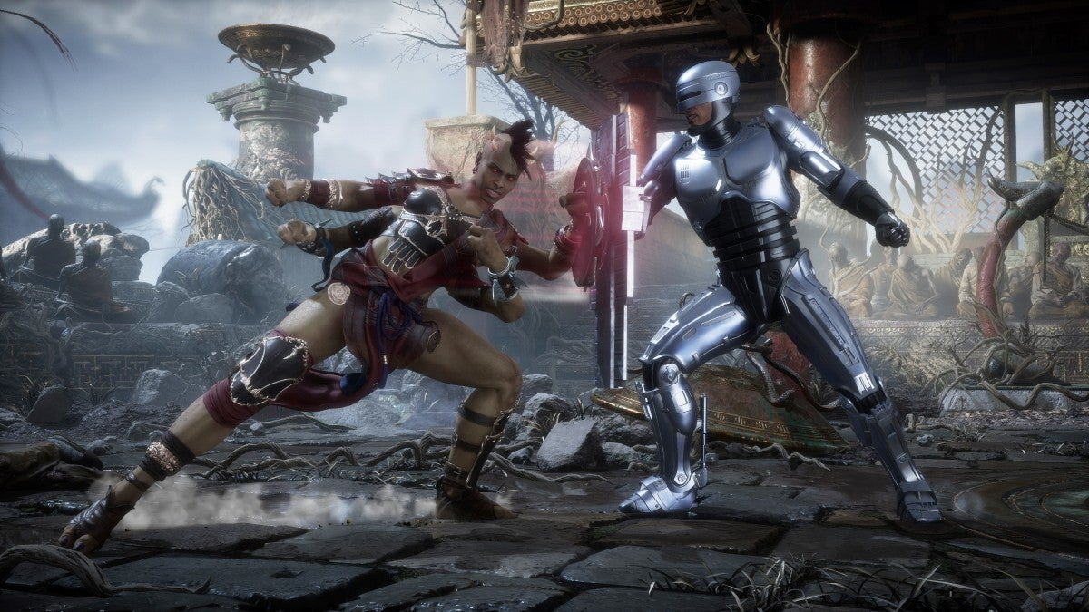 Fight clip from the Mortal Kombat 11 Aftermath trailer