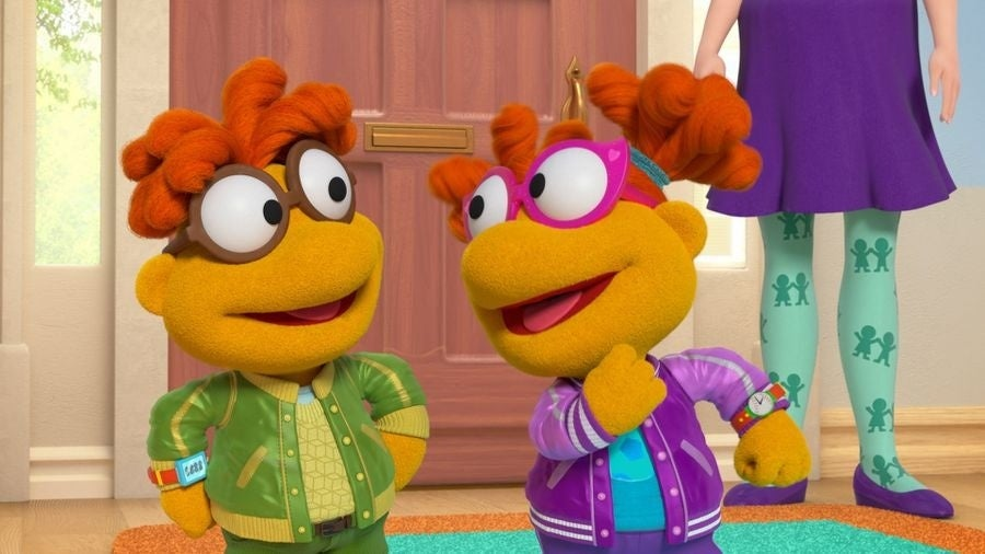 muppet babies scooter skeeter disney