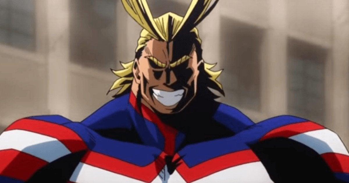 My Hero Academia All Might Anime