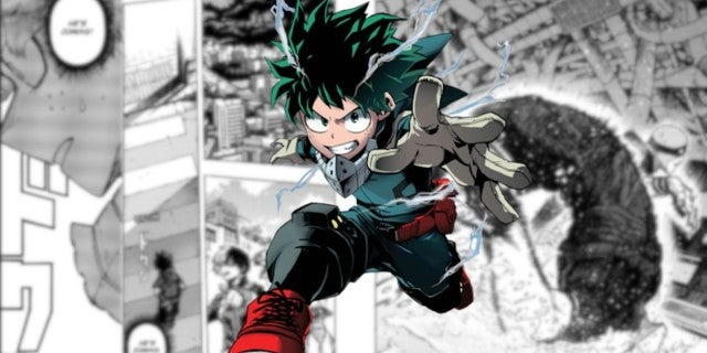 My Hero Academia Anime Manga 270 Izuku Deku vs Shigaraki Fight Tease Cliffhanger