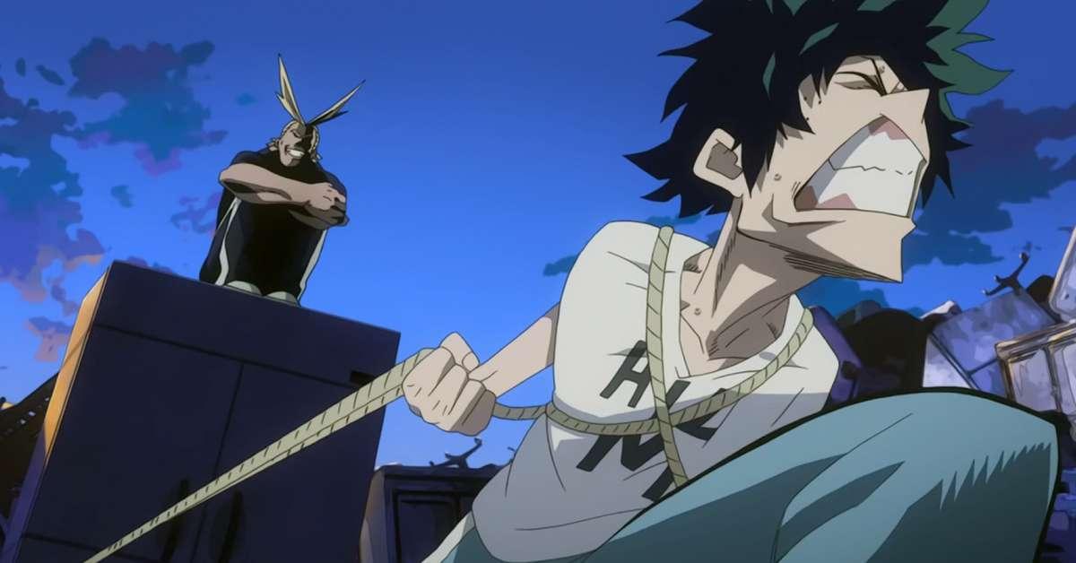 My Hero Academia Midoriya Surpass All Might