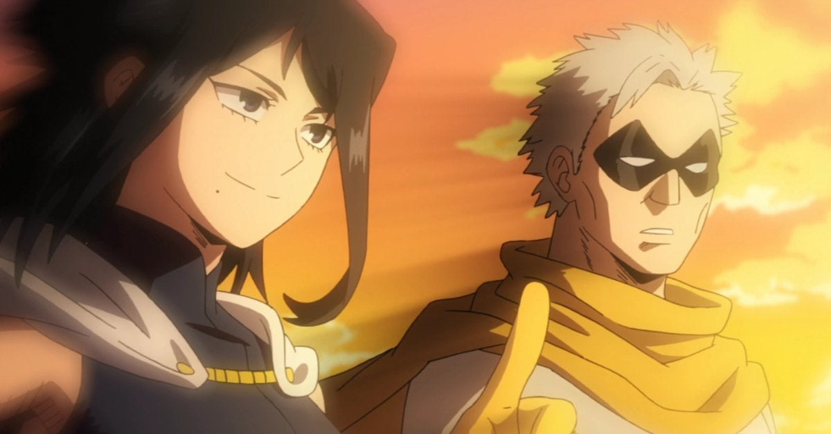 My Hero Academia Nana Shimura Gran Torino Anime