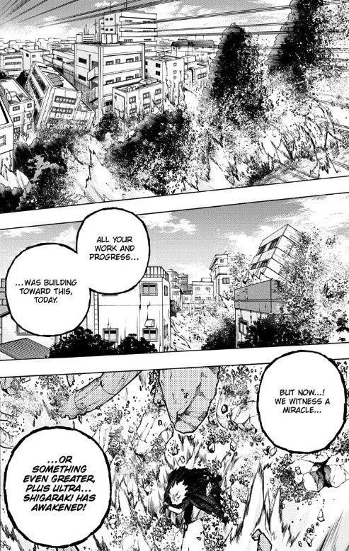 My Hero Academia Plus Ultra Shigaraki Manga 272