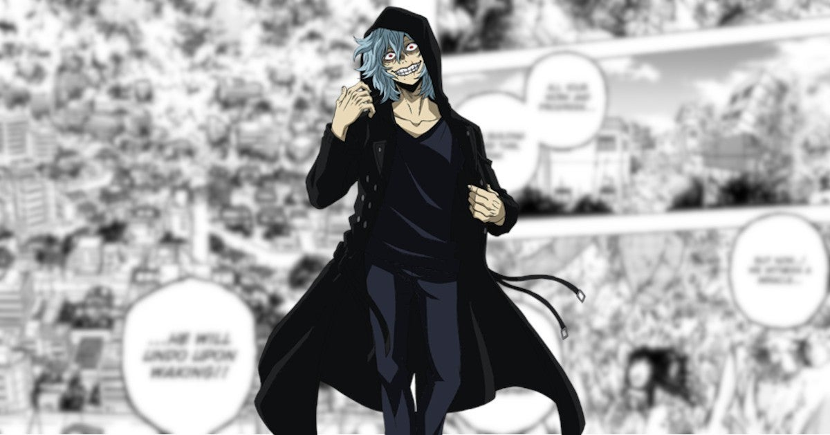 My Hero Academia Plus Ultra Shigaraki New Powers Form Manga 272