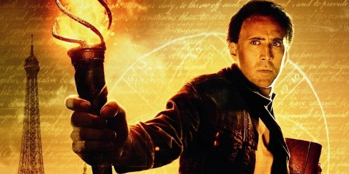 national treasure 3 nicolas cage