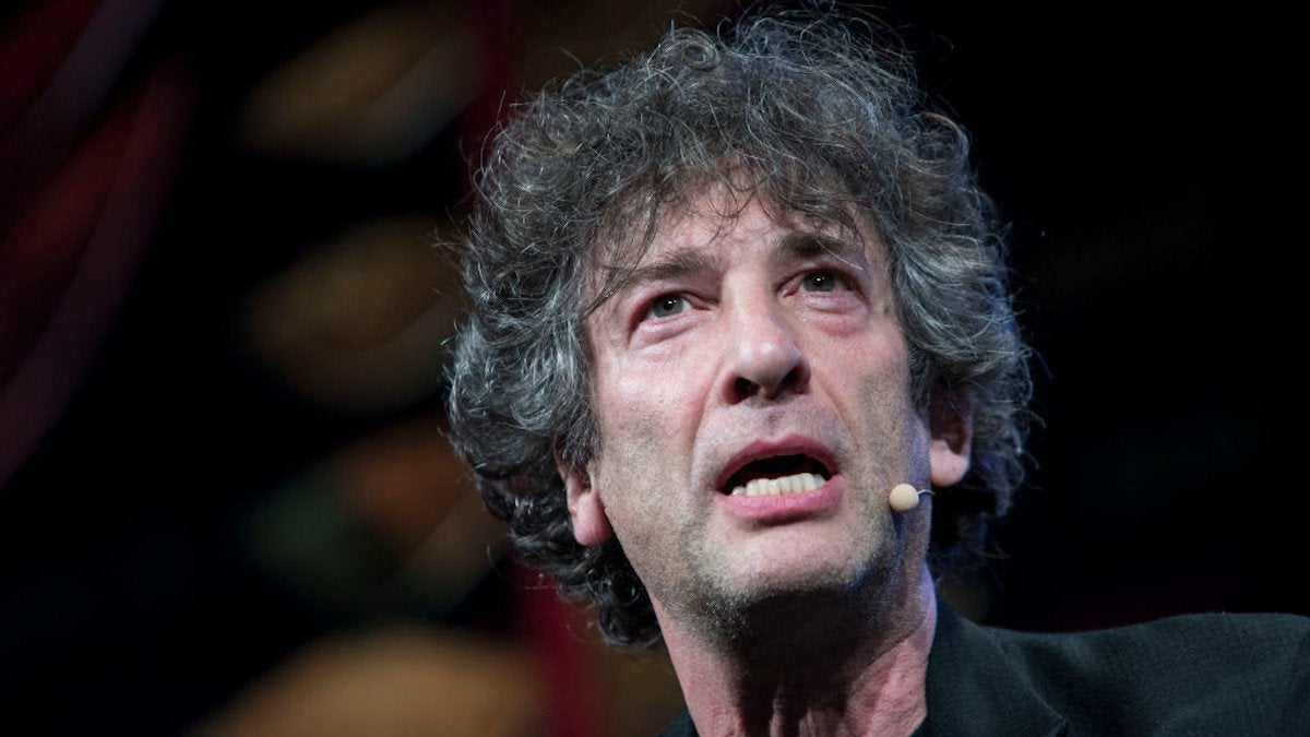 Neil Gaiman Breaks Quarantine Scotland