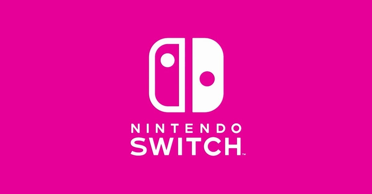 nintendo switch pink