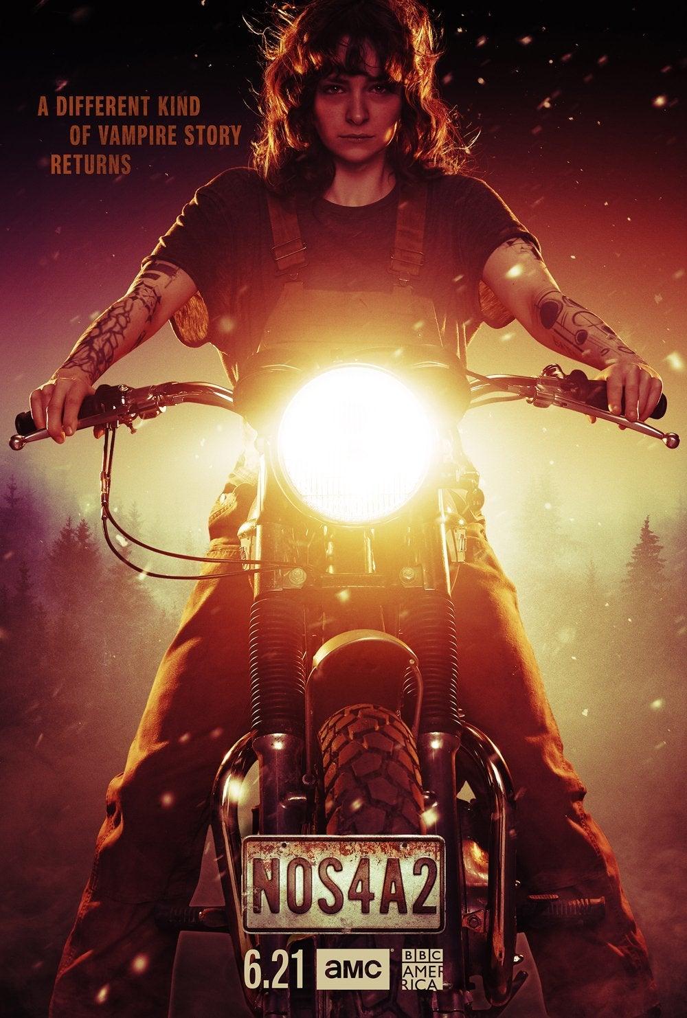 nos4a2 season 2 poster ashleigh cummings vic mcqueen