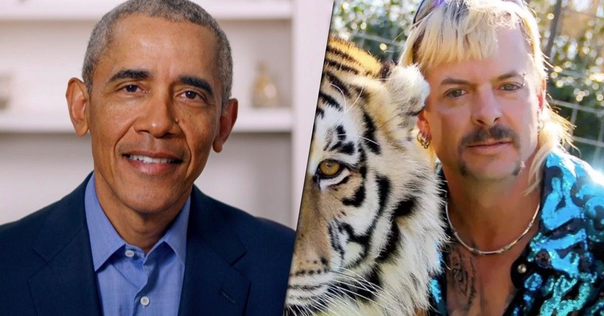 obama tiger king graduation