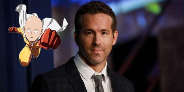 One Punch Man Ryan Reynolds Fan Poster