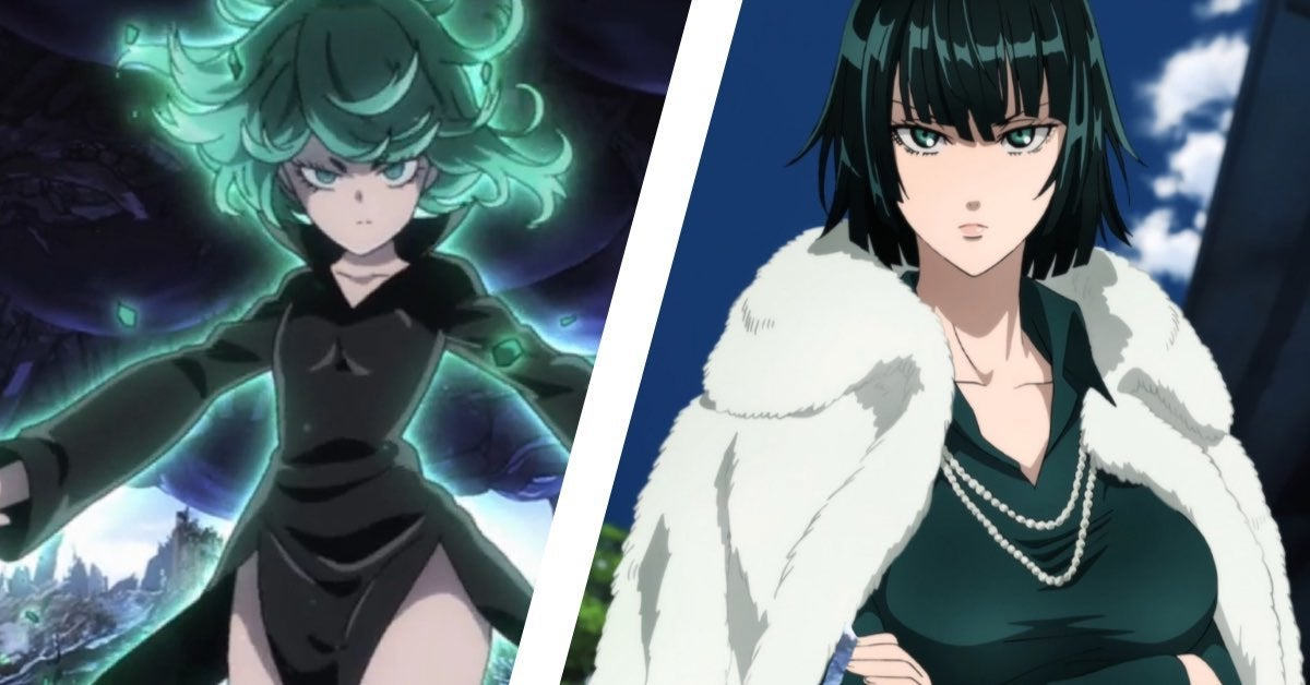 one punch man sisters