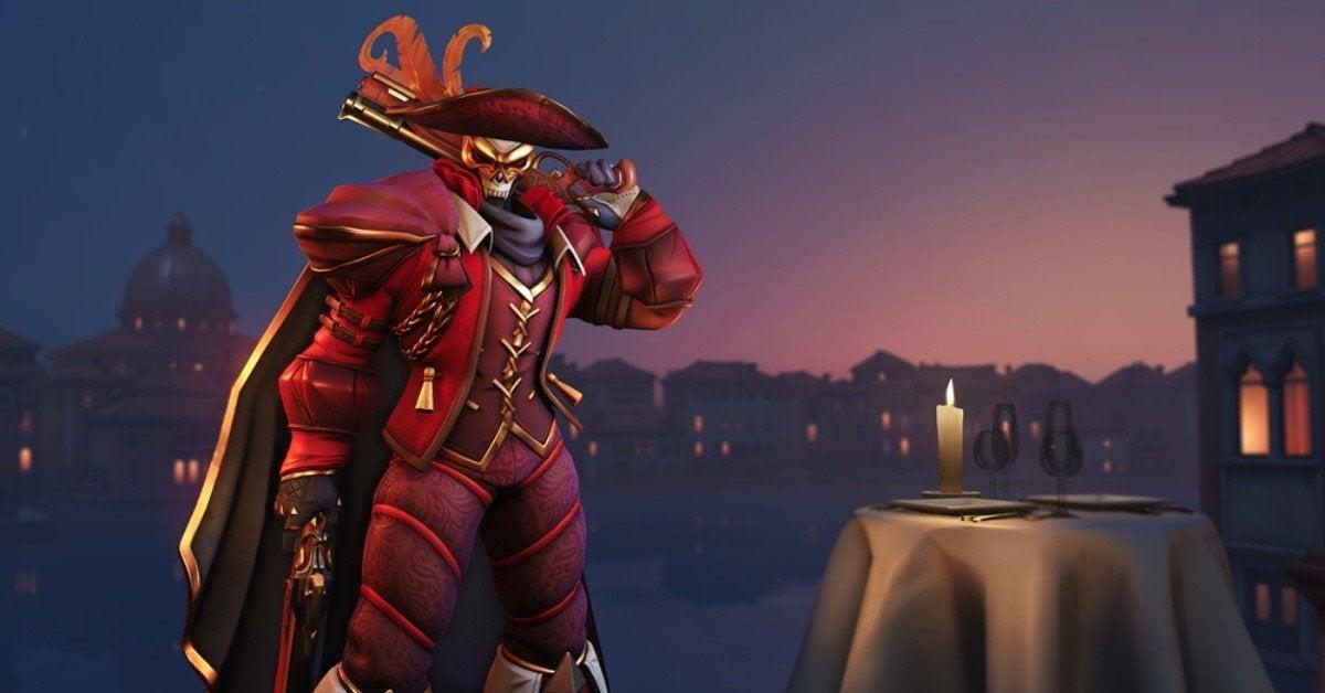 Overwatch Masquerade Reaper