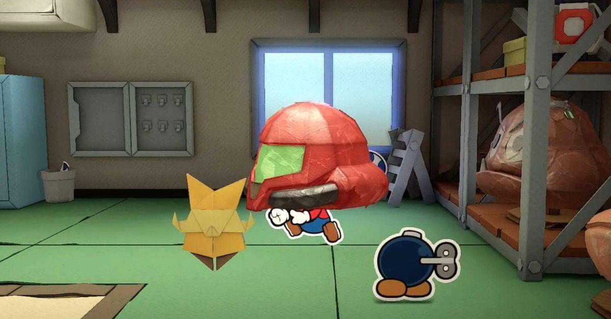 Paper Mario Metroid