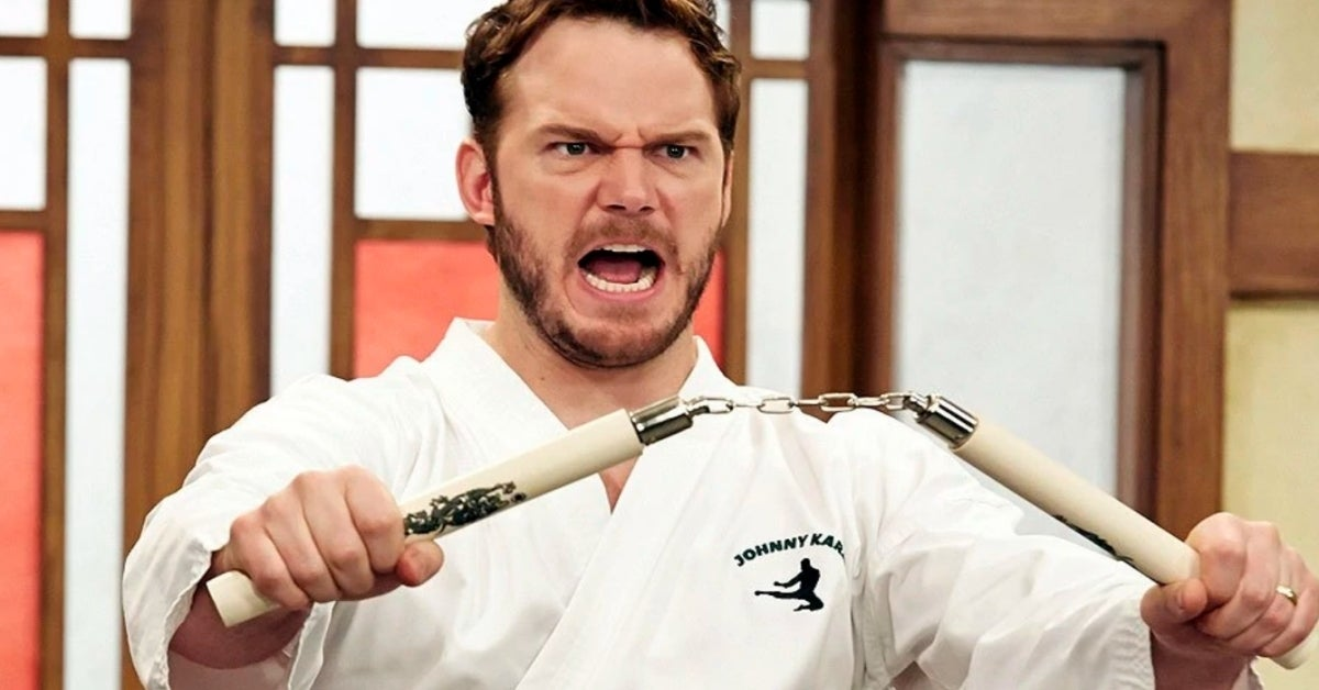 Parks and Recreation Chris Pratt Johnny Karate