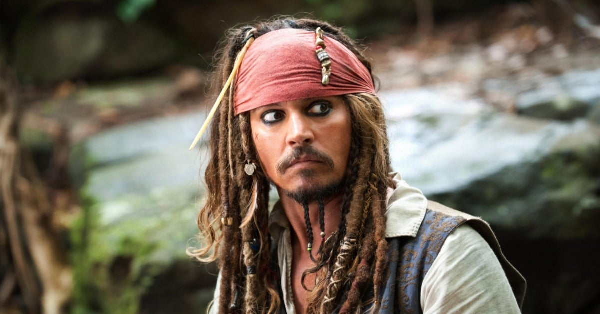 Pirates of the Caribbean Jack Sparrow Johnny Depp