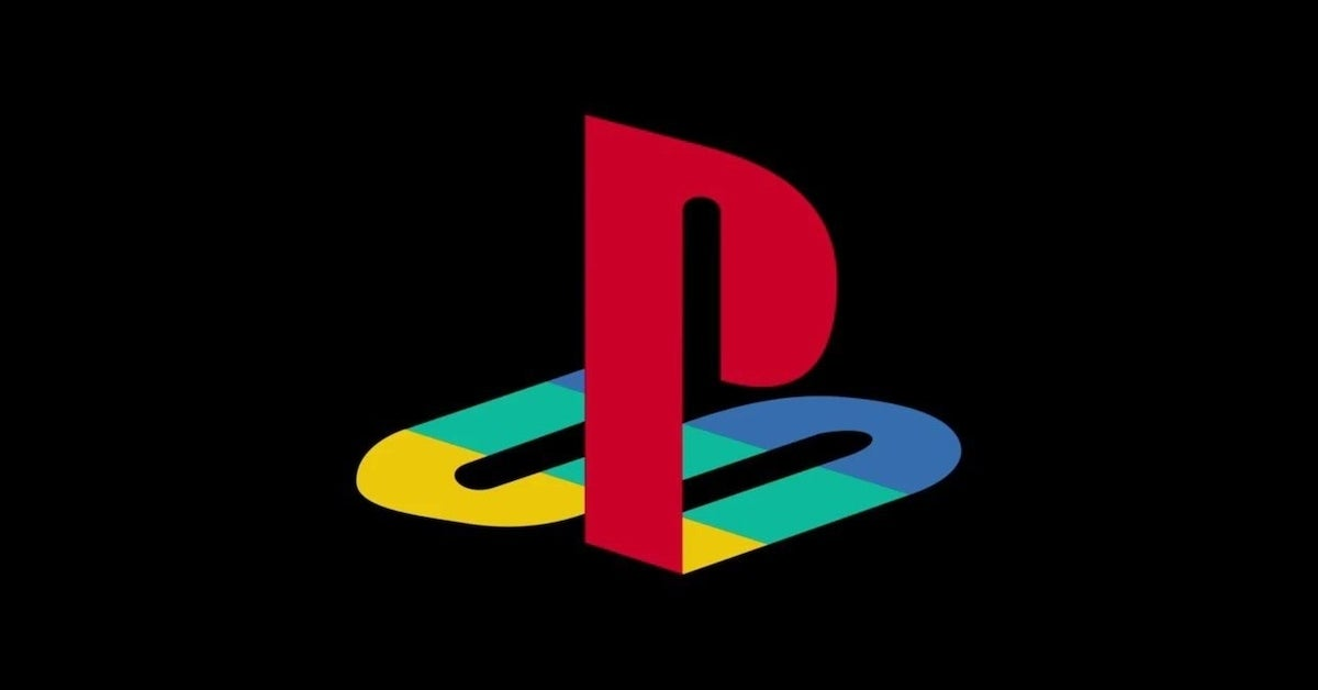 playstation classic retro logo