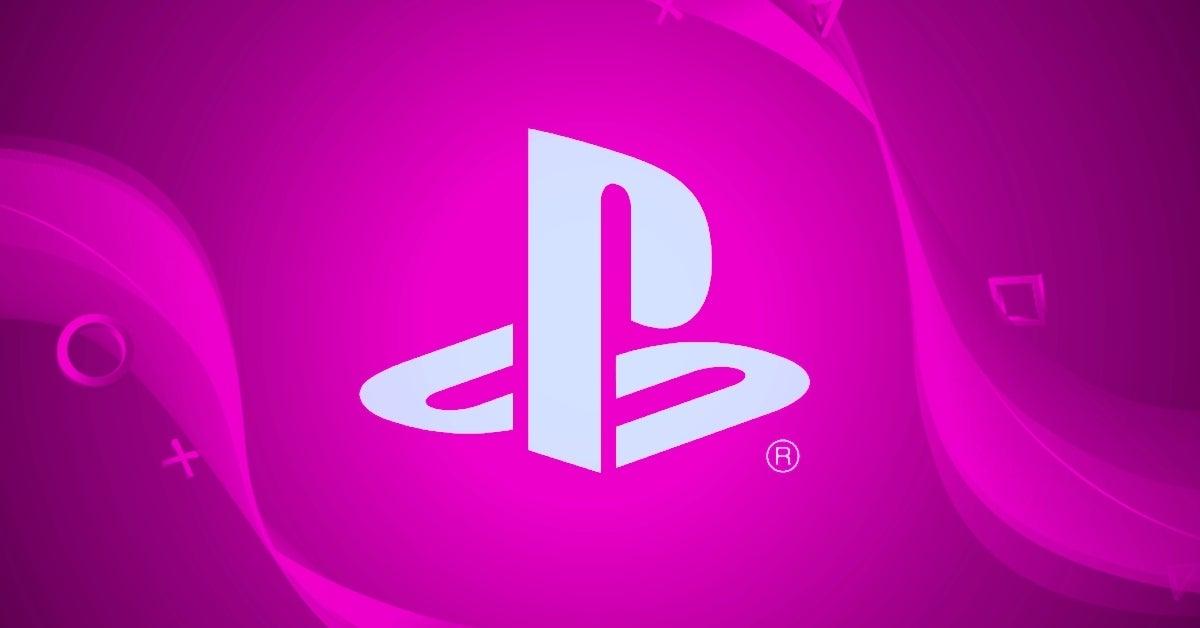 playstation pink bright