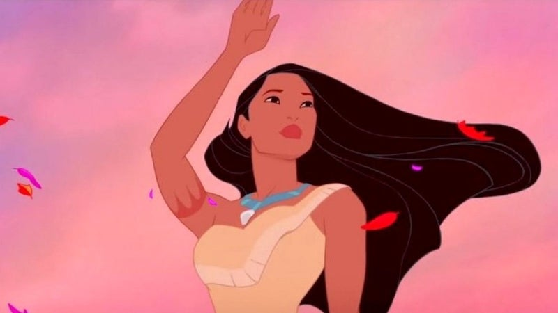 pocahontas disney movie