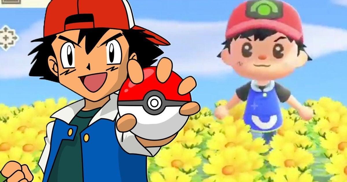 pokemon anime ash animal crossing