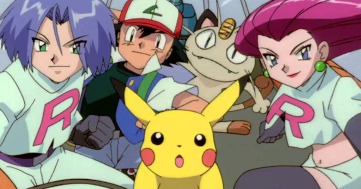 Pokemon Ash Ketchum Team Rocket