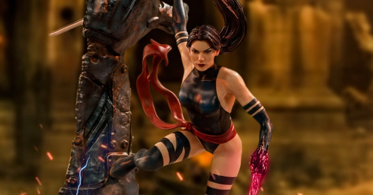 Marvel's Psylocke Gets an Epic Statue From Iron Studios