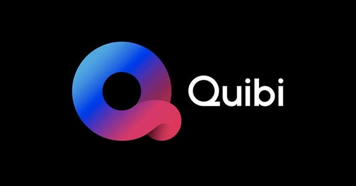 quibi on televisions