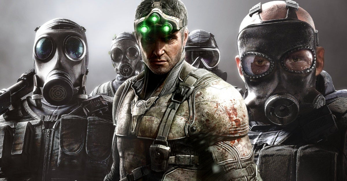rainbow six siege splinter cell