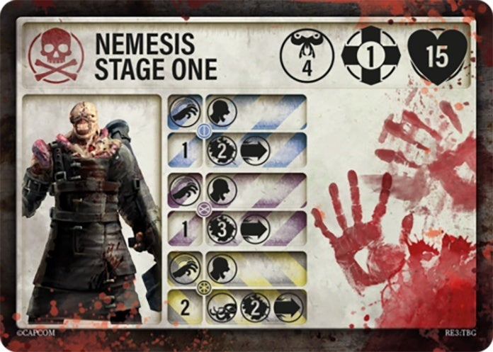 Resident-Evil-3-Board-Game-Nemesis-Stage-One