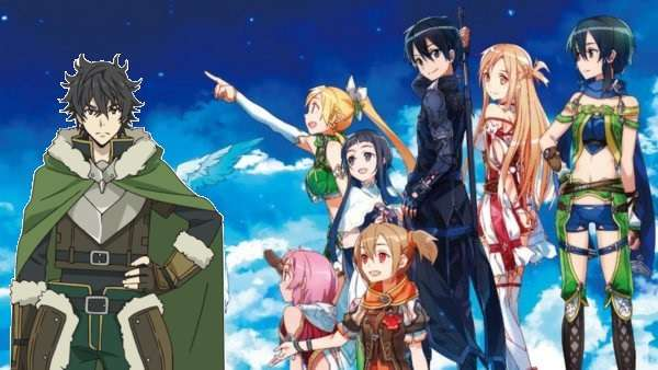 Rising Of Shield Hero & Sword Art