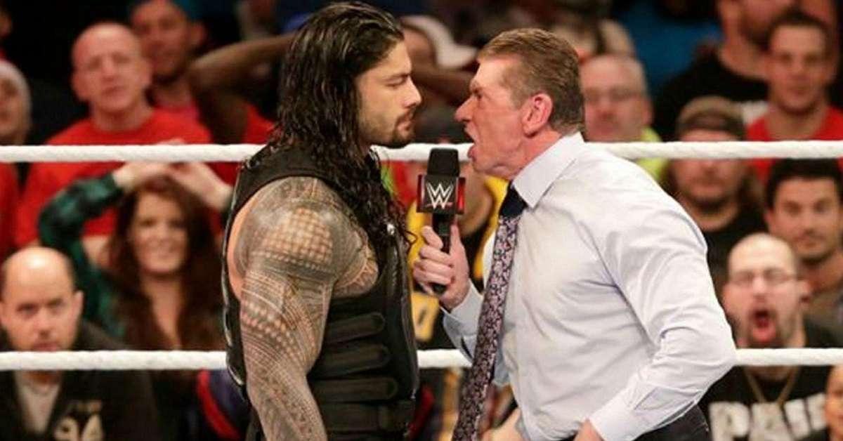 Roman Reigns Vince