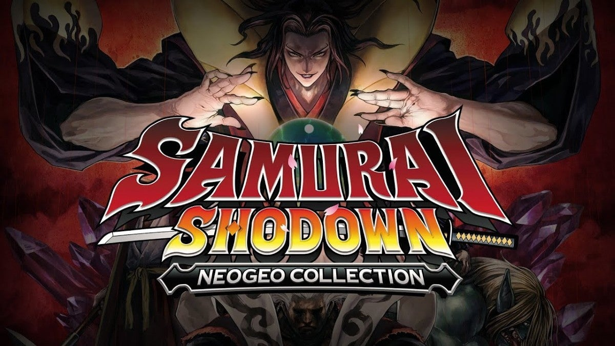 samurai shodown neogeo collection new cropped hed