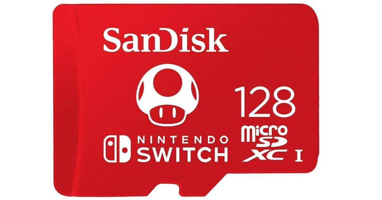 Nintendo Switch Deal Offers Free 128GB MicroSD Card With 2 Digital Games