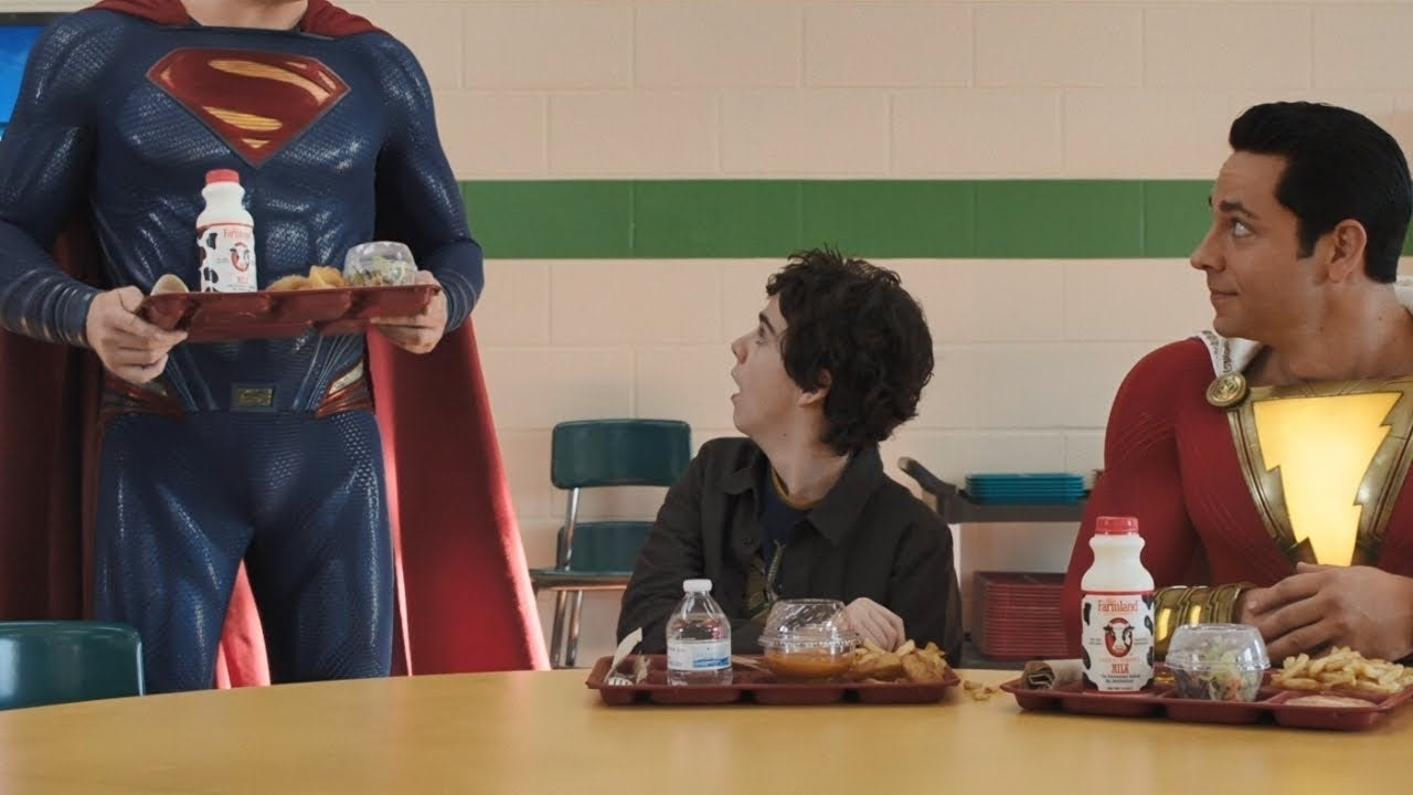 shazam superman scene