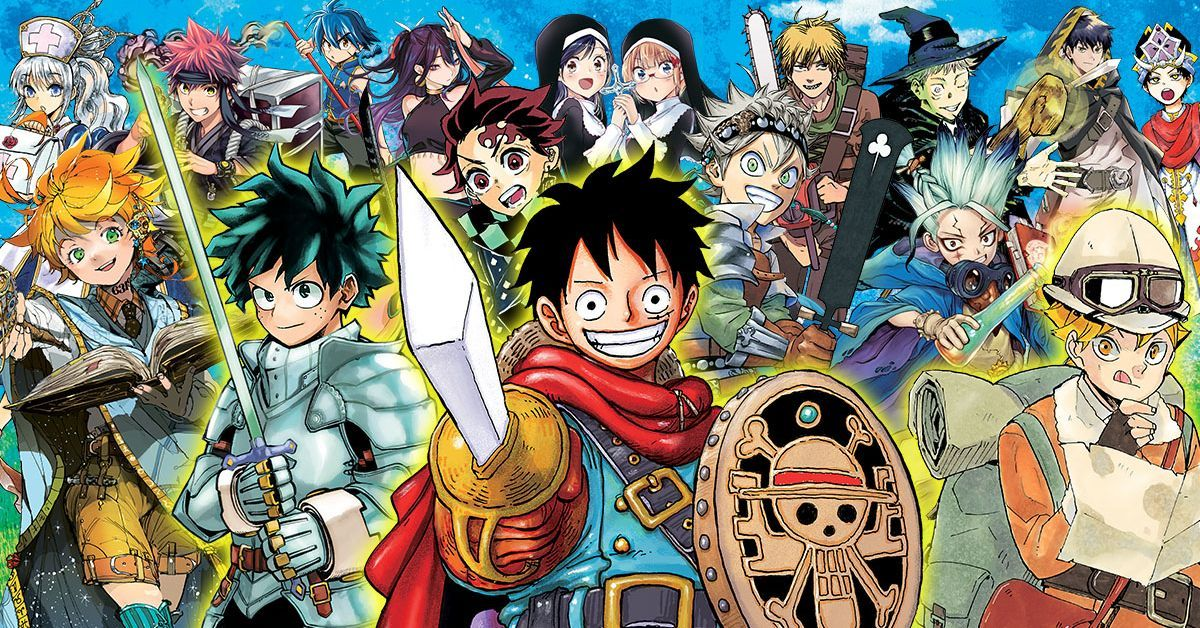 Shonen Jump Manga One Piece My Hero Academia